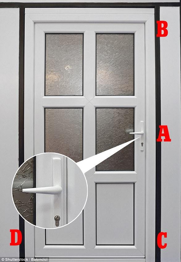 cửa có hệ thống khóa đa điểm