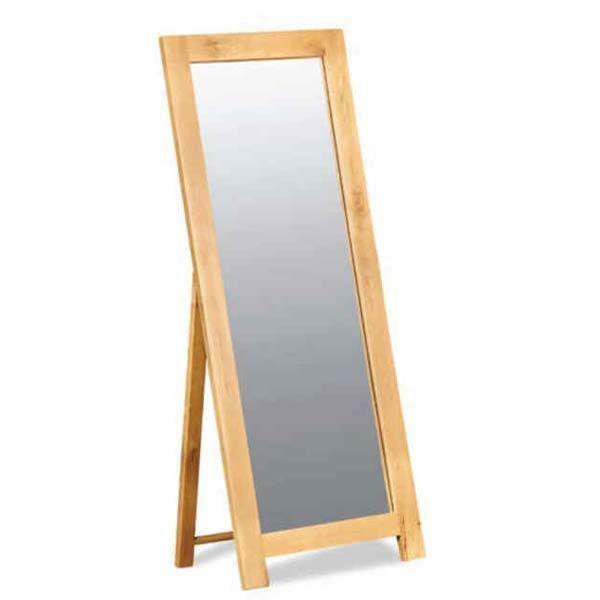 Gương đứng khung gỗ