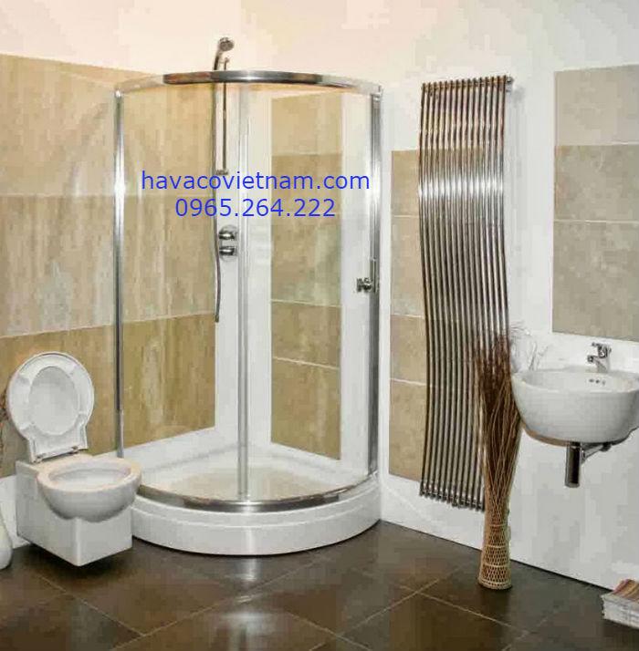 Cabin phòng tắm kính cong