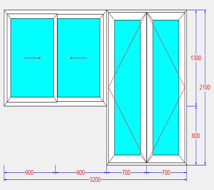 bản vẽ cad cửa nhôm kính xingfa
