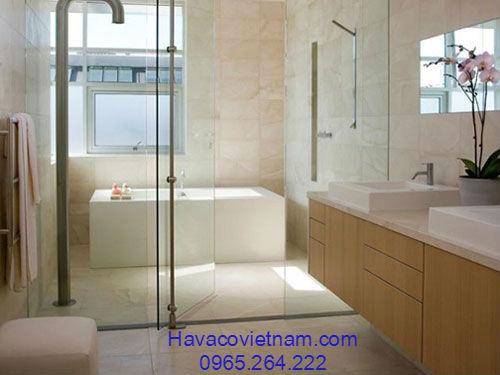 Cửa kính cường lực nhà tắm