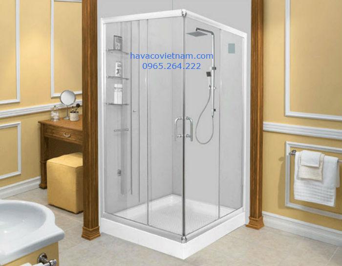 Mẫu cabin tắm 90 độ