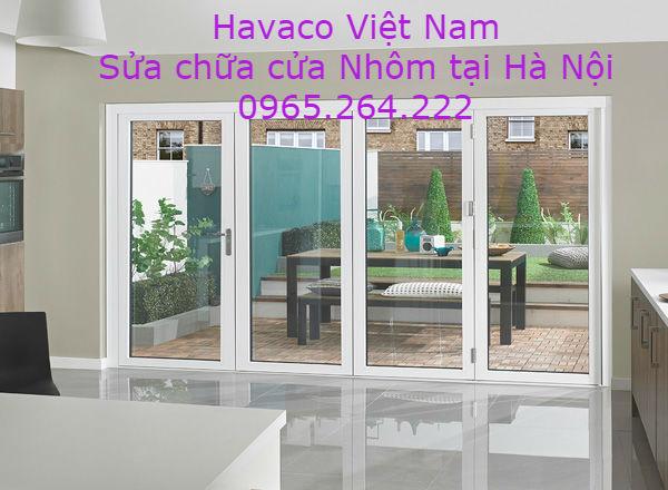 Sửa chữa cửa nhôm tại Hà Nội