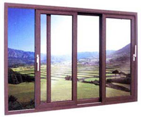 Cửa sổ mở trượt nhôm Việt Pháp hệ 2600