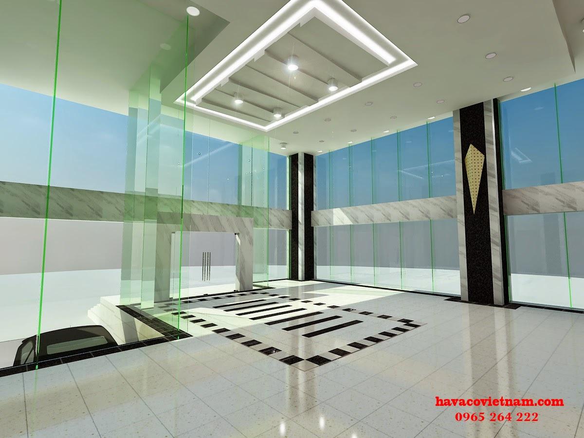 Chọn cửa kính cường lực cho phòng khách tạo sang trọng, đẳng cấp
