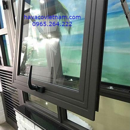 Cửa nhôm Xingfa với 2 đường gân gia cường