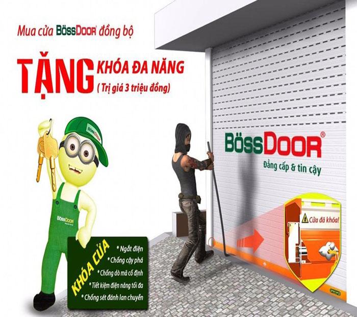 Cửa cuốn Bossdoor Tân Trường Sơn