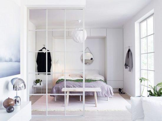 Vách nhôm kính phòng ngủ thêm đẹp thông thoáng